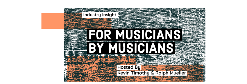For Musicians by Musicians